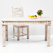 Taberna Table White 140x70cm