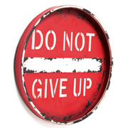 Wall Decoration Do Not Give Up