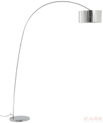 Floor Lamp Gooseneck Chrome