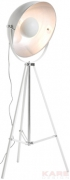 Floor Lamp Bowl White