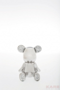 Deco Figurine Funky Bear Crystal Sit