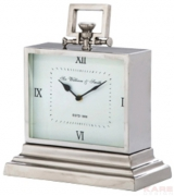 Table Clock Sir William & Smith Small Alu
