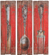 Wall Decoration Cutlery Assorted