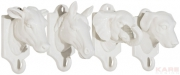 Wall Hook Animal Small Assorted