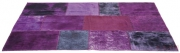 Carpet Patchwork Velvet Purple 170x240cm