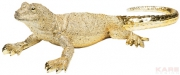 Deco Figurine Lizard Gold Big