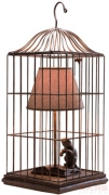 Table Lamp Cats Cage