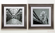 Picture Frame Emblem 60x60cm Assorted