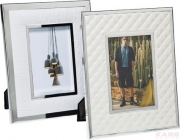 Frame White Texture 13x18cm Assorted