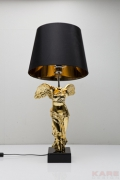 Table Lamp Headless Angel Gold