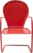 Deco Chair Red