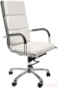Office Chair Relax Napalon White High