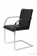 Cantilever Arm Chair Candodo Black