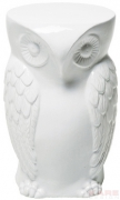 Stool Owl White